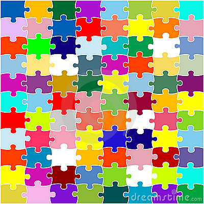 Color Puzzle Stock Image Image 9435381