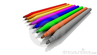 Coloré Ressentir-Incline