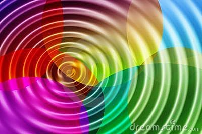 Color ripples