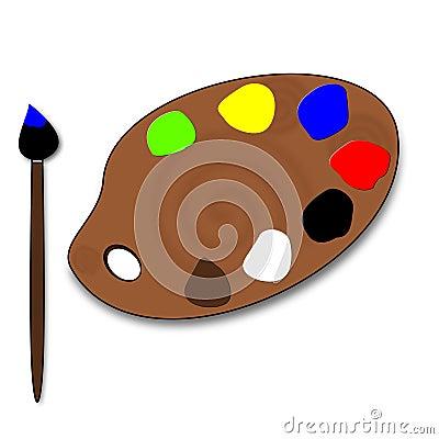 Color s palette