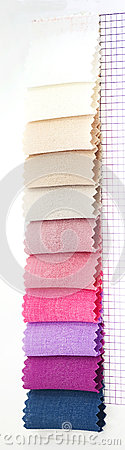 Color Samples In Fabric