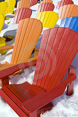 Free Color Seat Chairs Stock Photography - 13413132