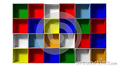 Color shelves