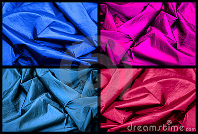 Color silk textures