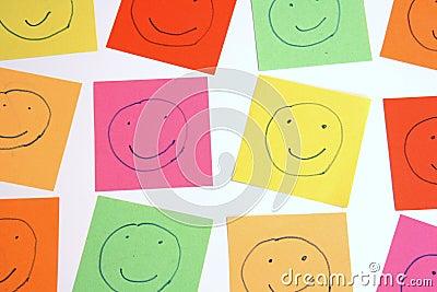 Color smileys