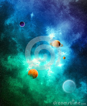 The Color of Space