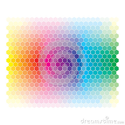 Free Color Spectrum Abstract Wheel, Colorful Diagram Ba Stock Image - 31572311