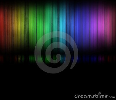 Color Spectrum or Rainbow