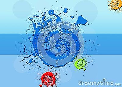 Color Splash Background.