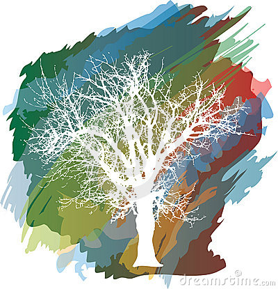 Color splash tree