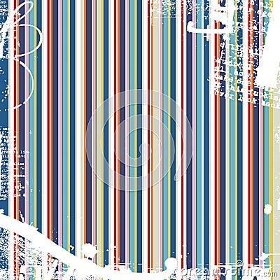 Color stripes grunge