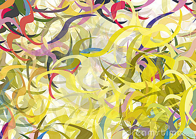 Color swirls vector