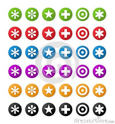 Color symbols