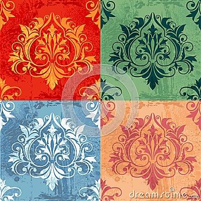Color Variations Of Classic Decor Elements
