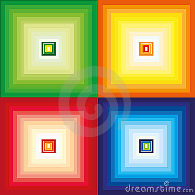 Color vector patterns