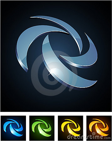 Free Color Vibrant Emblems. Stock Photography - 18819092