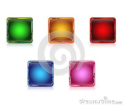 Color web buttons empty