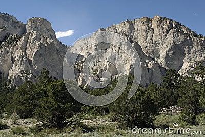 Colorado Chalk Cliffs
