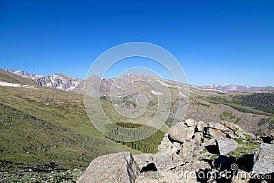 Colorado High Alpine Vista