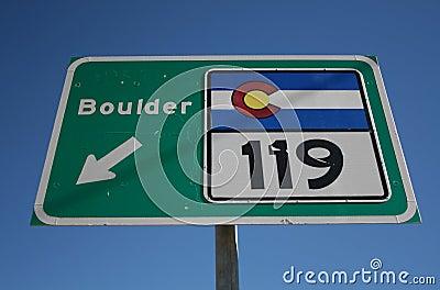 Colorado highway 119