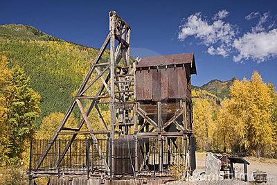 Colorado Mine in Autumn