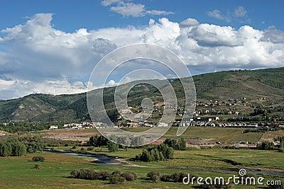 Colorado mountain neighborhood