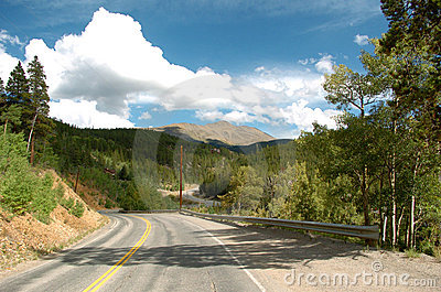 Colorado Mountain Road