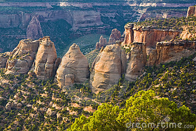 Colorado National Monument Turrets