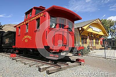 Colorado Railroad Museum Editorial Stock Photo