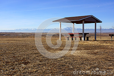 Colorado Rest Area Royalty Free Stock Images - Image: 28799059