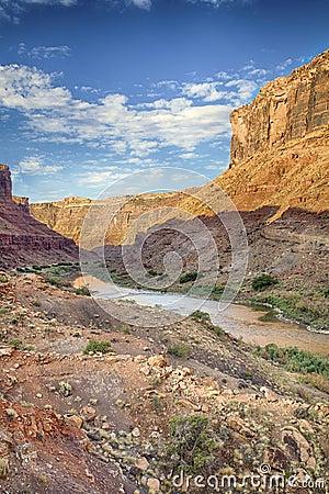 Colorado River Canyon HDR