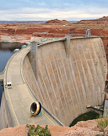 Colorado River Dam, Arizona