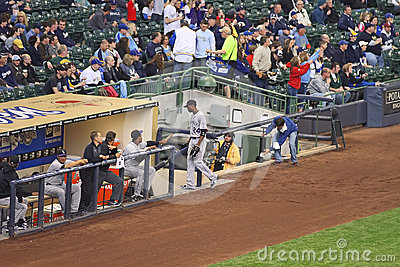 Colorado Rockies Dugout Royalty Free Stock Photo - Image: 24484515