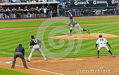 Colorado Rockies x New York Yankees Baseball Editorial Photo