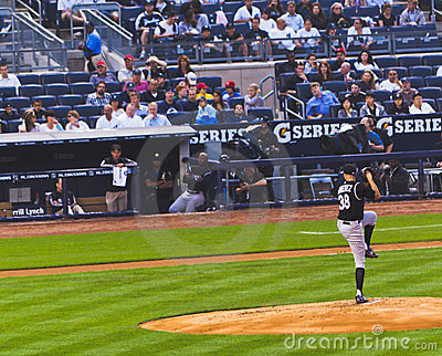 Colorado Rockies x New York Yankees Baseball Editorial Stock Photo