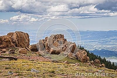 Colorado rocky mountain scenic