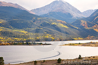 Colorado s Twin Lakes and Mountain Range