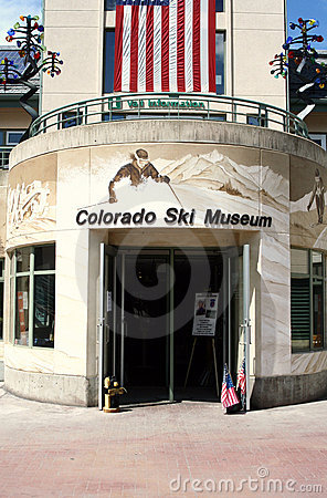 Colorado Ski Museum Editorial Photography
