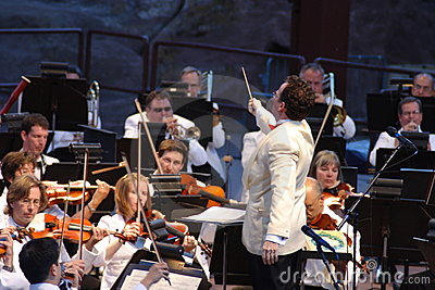 Colorado Symphony Orchestra Editorial Stock Photo
