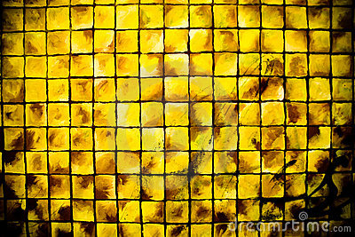 Colore giallo dei quadrati