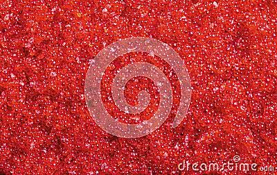 Colore rosso di Tobiko