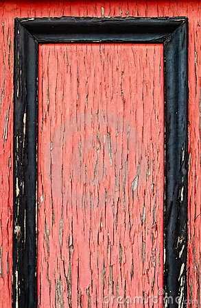 Colore rosso incorniciato