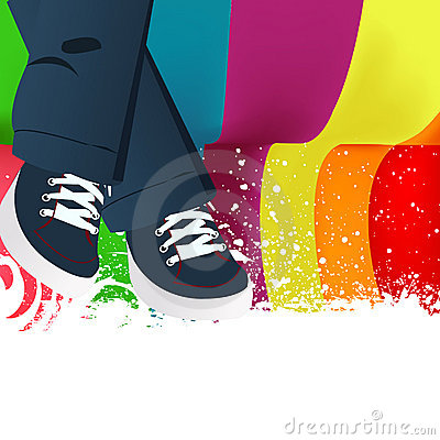 Free Colored Abstract Background Stock Photography - 15987002