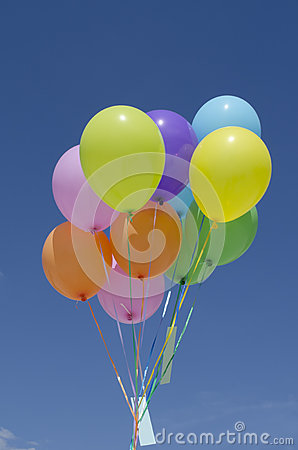 Free Colored Balloons Royalty Free Stock Photo - 41133755