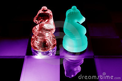 Colored chess