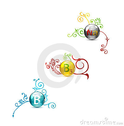 Free Colored Circle Tablet Vitamins Set Royalty Free Stock Photography - 19766177