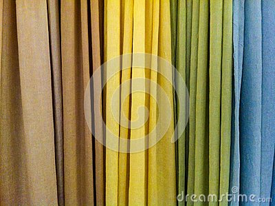 Colored Curtains