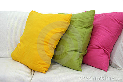 Colored Cushions