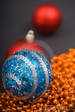 Colored decoration for Christmas