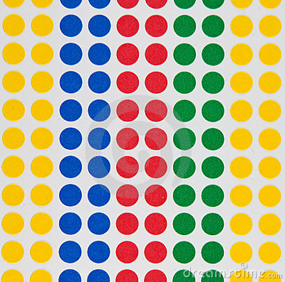 Colored dots Stock Photo